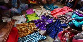 Dresses made by Panmala Wasahat Self Help Group, Pune