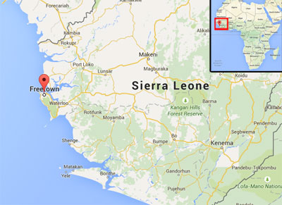 Freetown, Sierra Leone (West Africa)