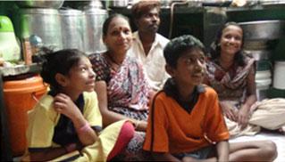 Sangita and her family