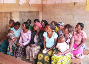 Women of the Self Help Group in Chingwere