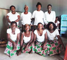 Self Help Group elected officers, with Kangwa Chewe