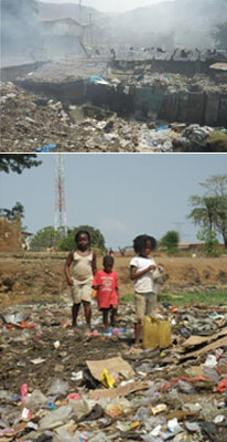 Wastepickers in Sierra Leone