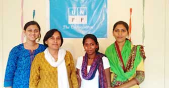 Project Staff at UNFF Field Office in Pune