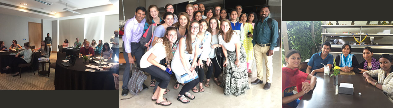 Furman University and Dining for Women India Visit