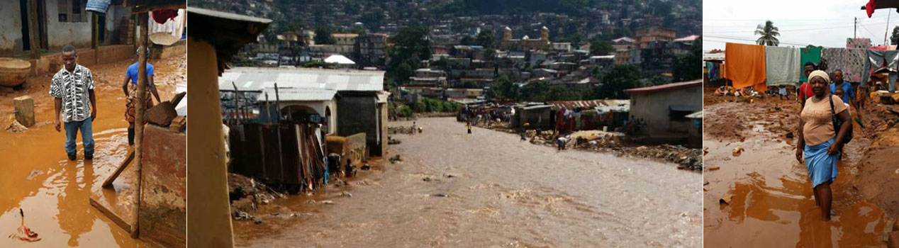 Help flood victims in Sierra Leone