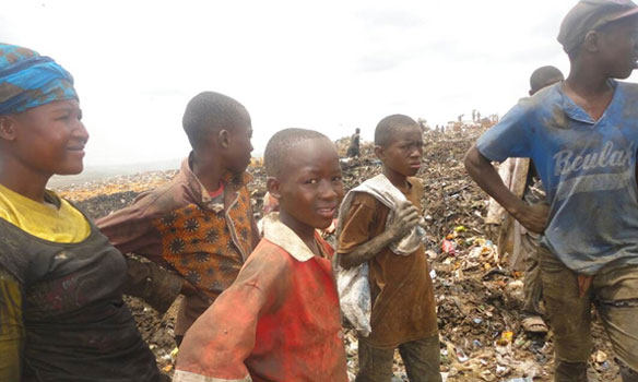 Wastepickers at the Chingwere Dump